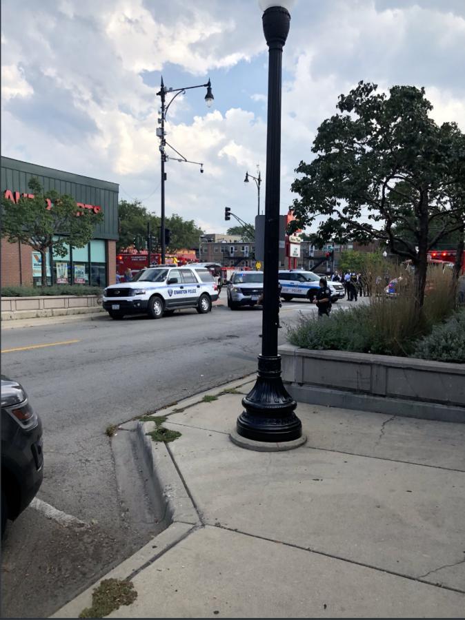 Police response at Custer and Howard