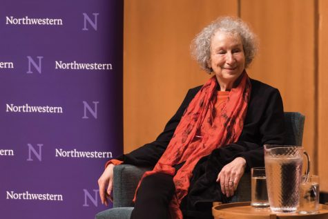 "Margaret Atwood discusses modern day politics and the enduring power of ""The Handmaid's Tale"""