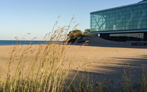 Questions arise over beach on northern part of Northwestern's campus