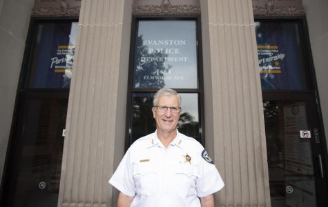 Evanston police chief Richard Eddington. Eddington said he will be retiring at the end of December.