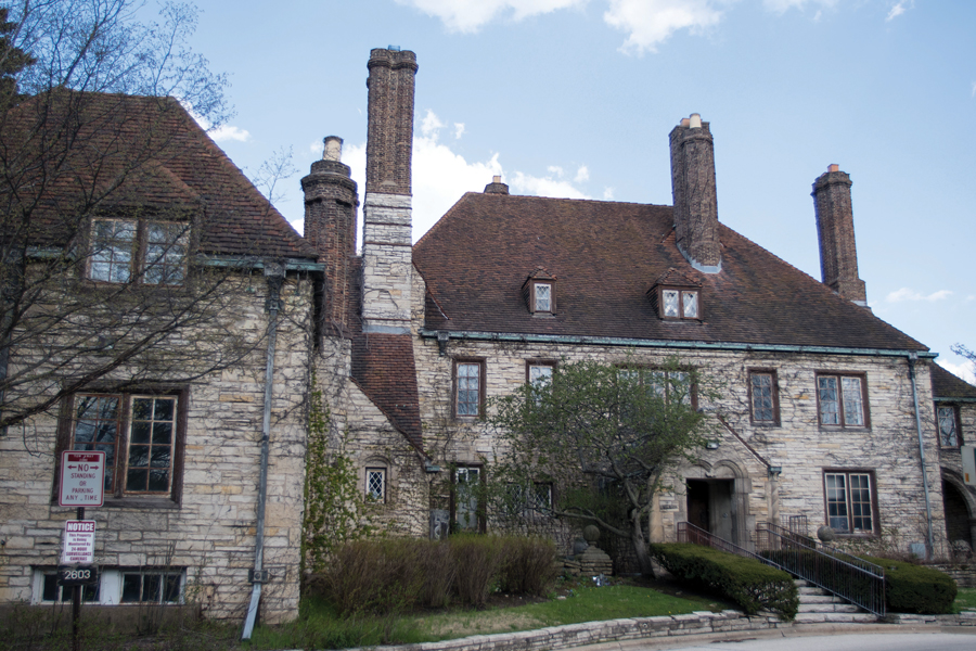 The Harley Clarke Mansion in north Evanston. An advisory referendum regarding the demolition of Harley Clarke will be added to the ballot in November.
