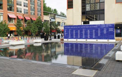 New Fountain Square renovations provide space for community events, outdoor seating