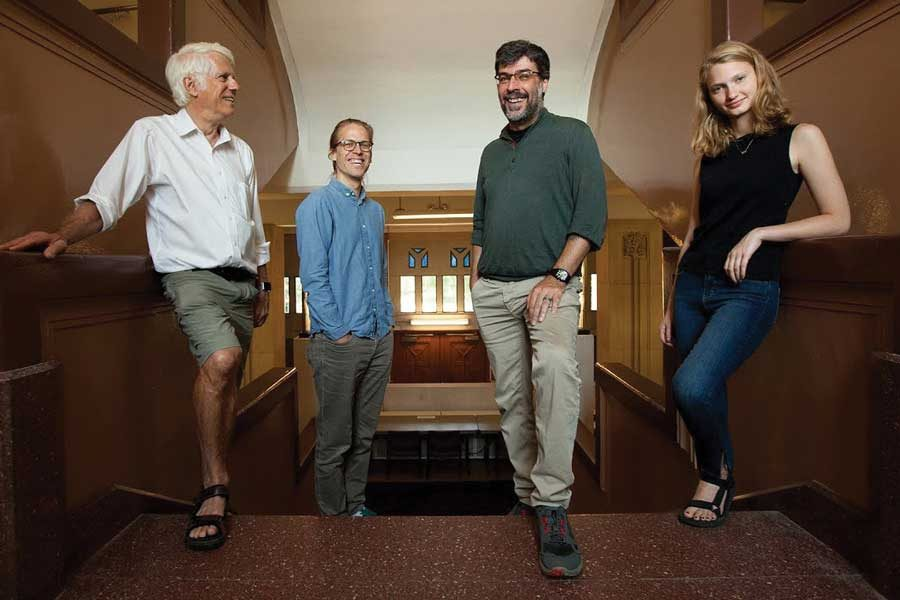 """Northwestern researchers sifted through over 1.5 million personality respondents from four separate questionnaires to come up with four personality types. """"Average"""" types were the most common, characterized by people showing higher levels of stress and extraversion and low levels of openness to change."""