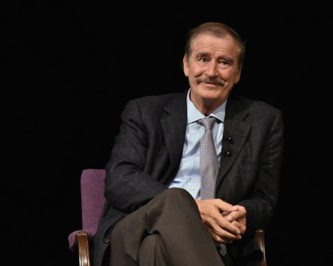 Former Mexican President defends Mexican contributions to North American trade during campus speech
