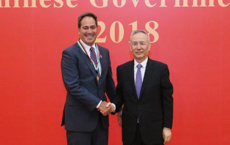 Northwestern chemistry Prof. receives China's Friendship Award