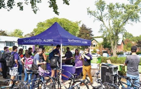 Northwestern prepares for the Homecoming game with week-long festivities