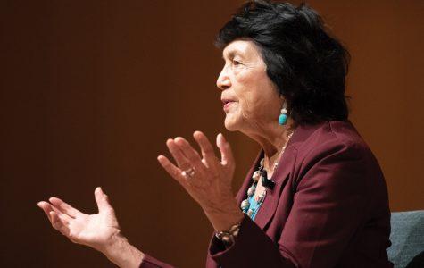 Dolores Huerta hits history, politics, education