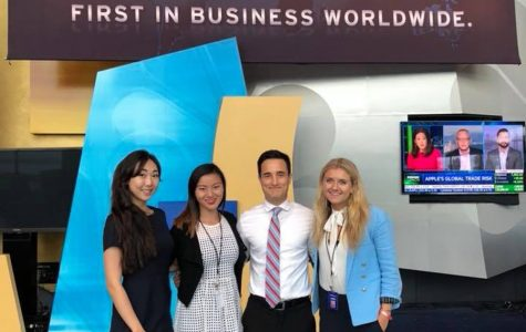 Alumni Watch: Medill graduate David Gernon transitions from Northwestern to CNBC
