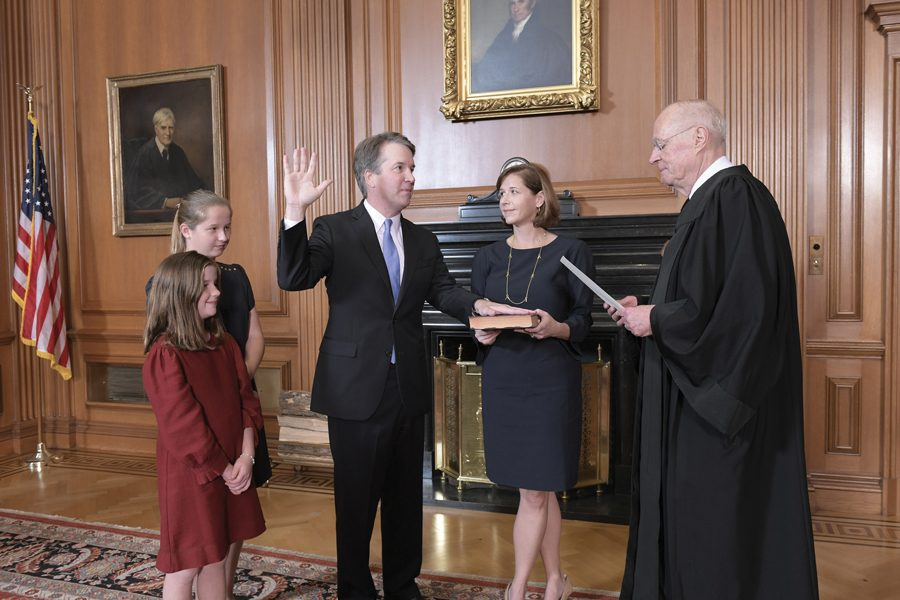 Justice Brett Kavanaugh was sworn in on Saturday. Northwestern students on both sides of the aisle had mixed reactions to his confirmation.