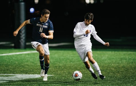 Men's Soccer: Northwestern loses in a blowout 3-0 against No. 15 Notre Dame