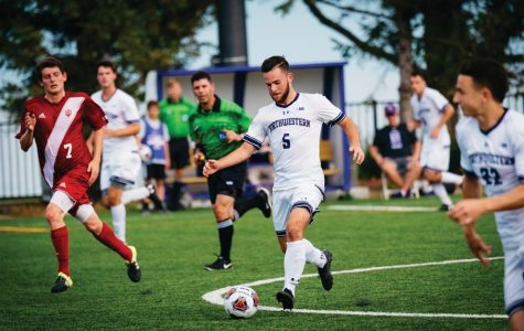 Men's Soccer: Buescher completes hat trick as Northwestern crushes D-III Concordia-Chicago