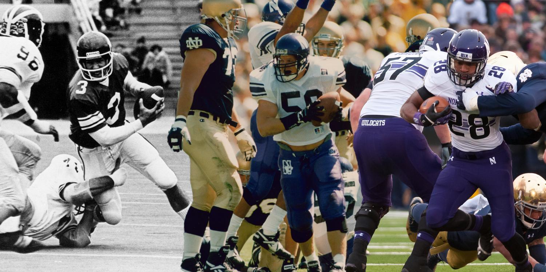 The Daily Northwestern | Football: Notre Dame, Northwestern