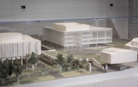 A University Commons model. Don't expect the real thing anytime soon.