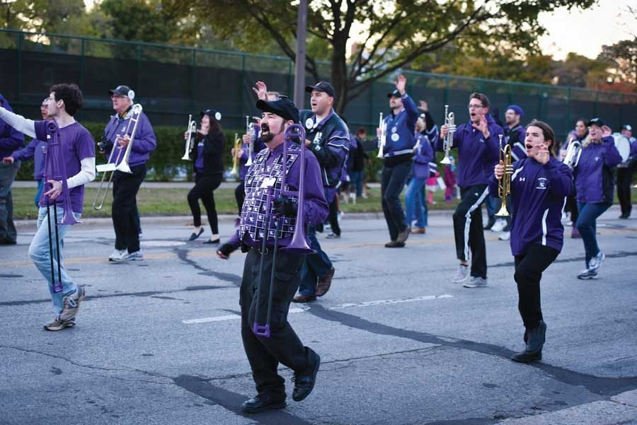 A+parade+will+not+be+part+of+Homecoming+festivities+for+the+second+year.+President+of+Northwestern+Alumni+Association+Samir+Mayekar+said+he+noticed+a+declining+interest+in+the+parade.+