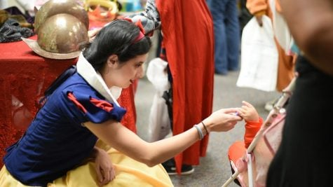 Project Pumpkin brings local children to campus for Trick-or-Treating