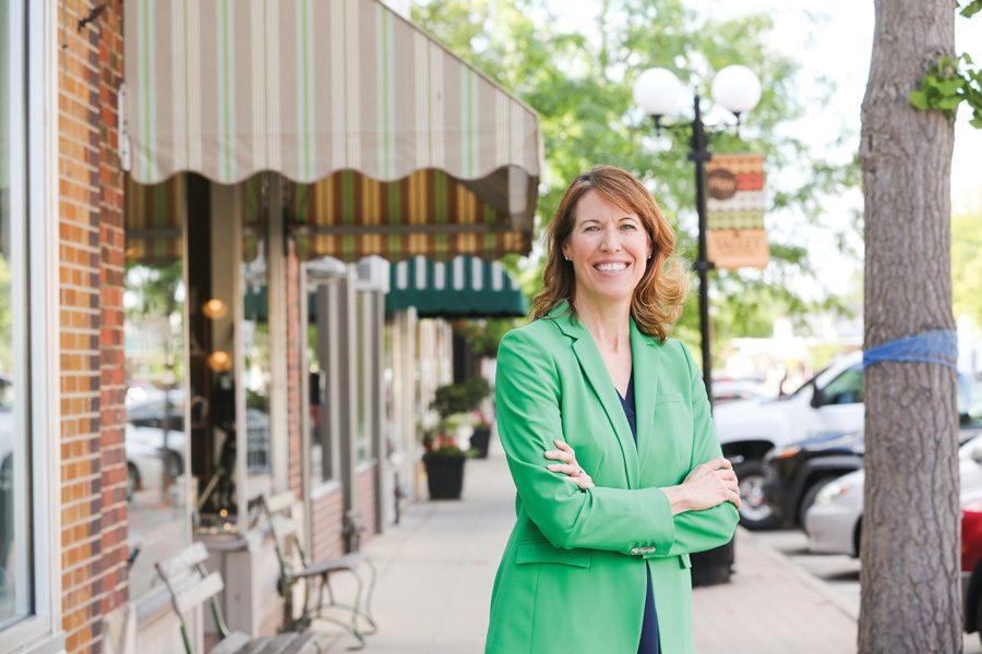 I'm Running: Kellogg alum Cindy Axne competes in must-win Iowa race