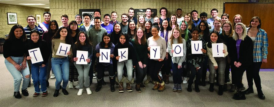 The+Daily+Northwestern+says+Thank+You%21+to+our+donors
