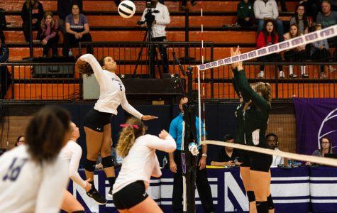 Volleyball: Northwestern outlasts Iowa in five-set thriller