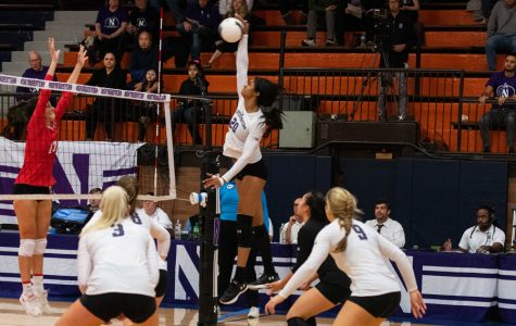Volleyball: Wildcats sweep Ohio State in final game at Beardsley Gym