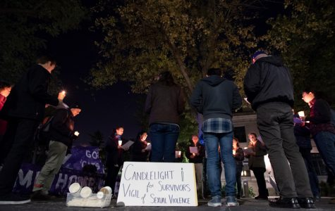 Amid scandal in the Catholic Church, CaSA holds candlelight vigil for survivors