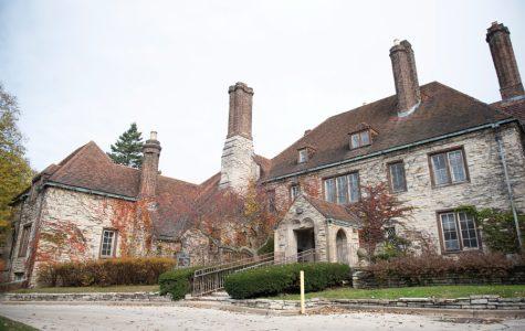 The Harley Clarke Mansion in north Evanston.
