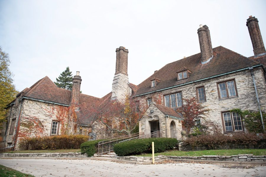 The Harley Clarke Mansion in north Evanston.
