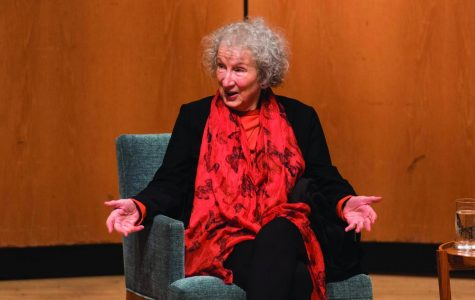 """Handmaid's Tale"" author Margaret Atwood speaks at Northwestern"