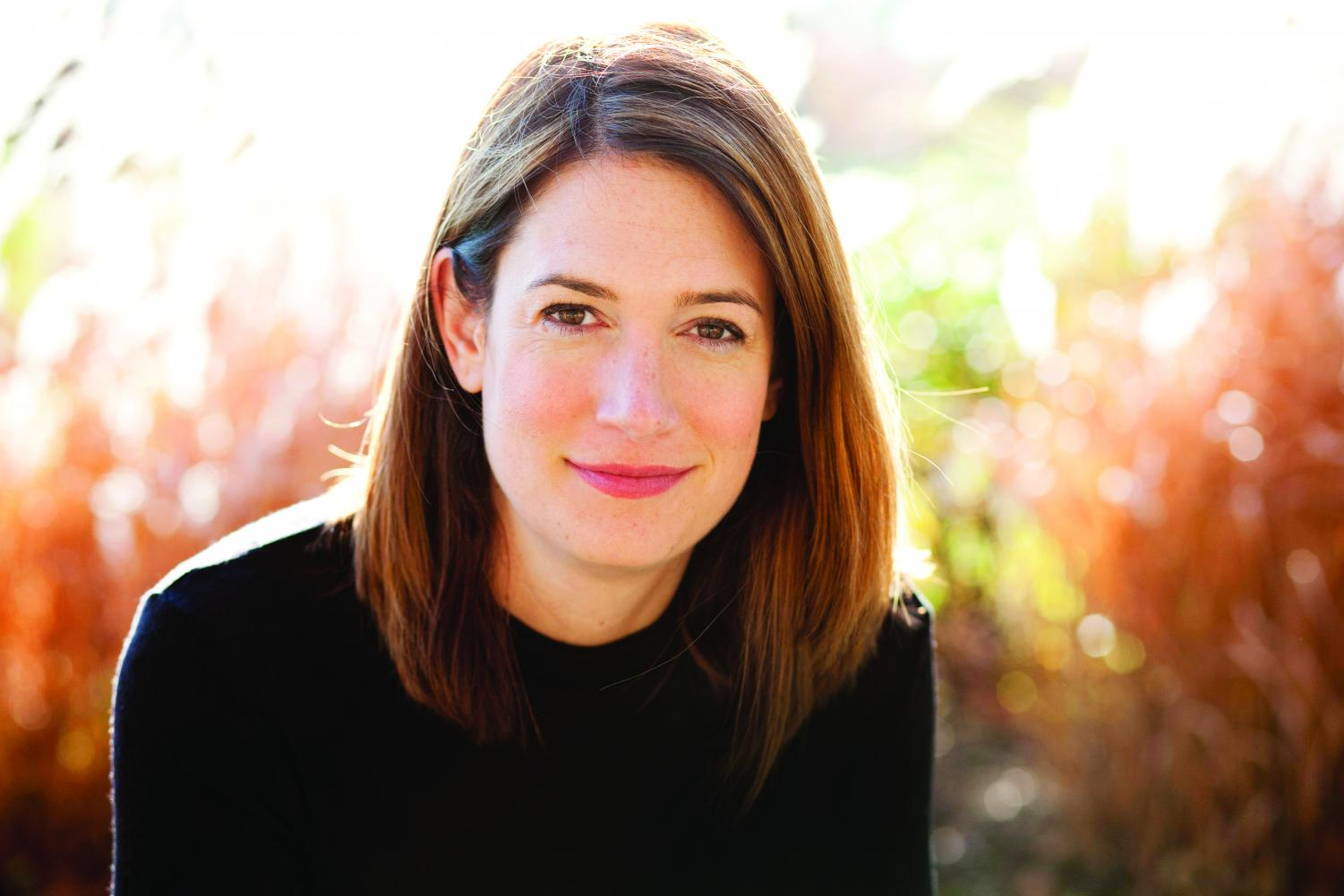 Author Gillian Flynn (MSJ '97). Flynn said it's incredibly important that to show all kinds of women in literature.