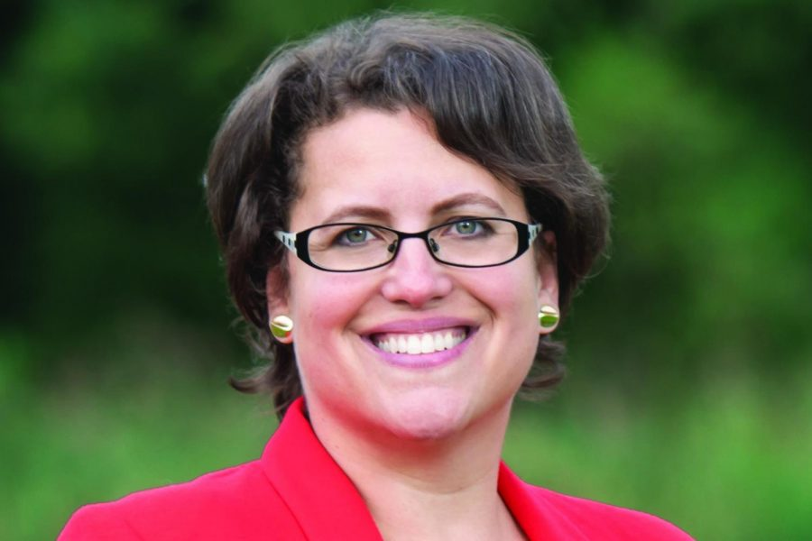 Dana Balter. The Communication alum is running as a Democrat for Congress in New York's 24th congressional district.