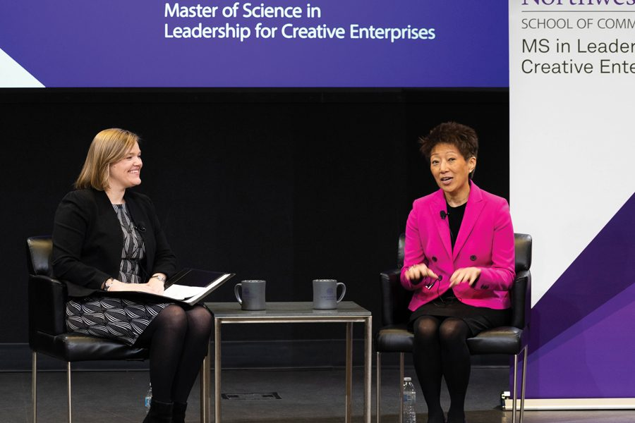 "Jane Chu, the former chairperson of the National Endowment for Arts. Chu said she ""transcended"" everyday conversation through art and music."
