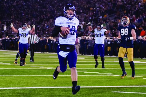 Football: With nothing to lose, Cats prepare for challenge in No. 4 Notre Dame