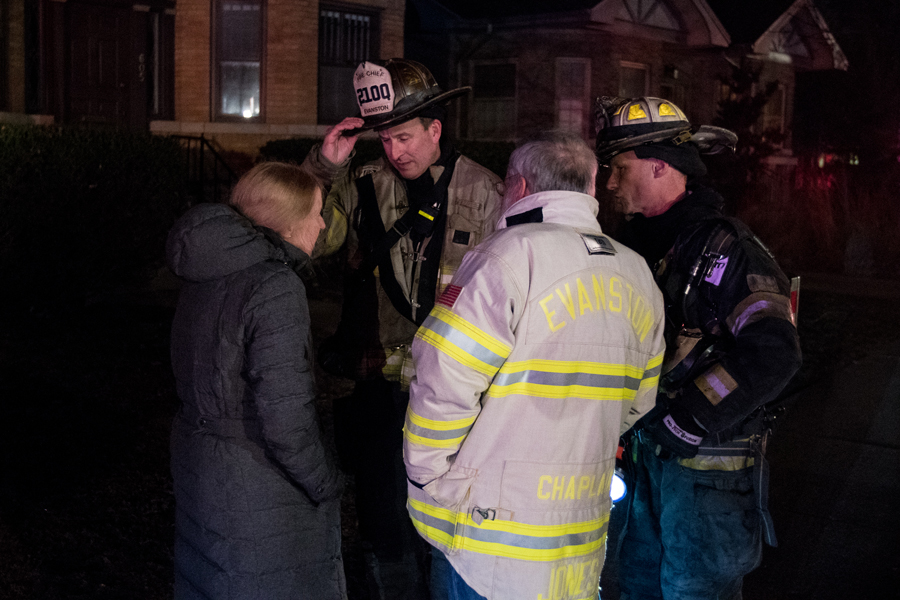 Evanston Fire Department Chief Brian Scott. Scott warned aldermen Monday that closing Station 4 could increase response times across the city.