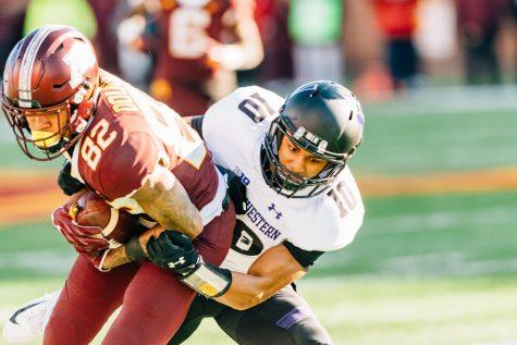 Football: Despite injuries, defense stands tall against upstart Minnesota attack