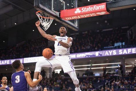 Men's Basketball: Gaines' football background, unique skill set make him Northwestern's 2019 wild card