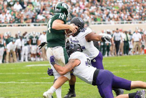 Football: Northwestern's stellar line anchors entire defense