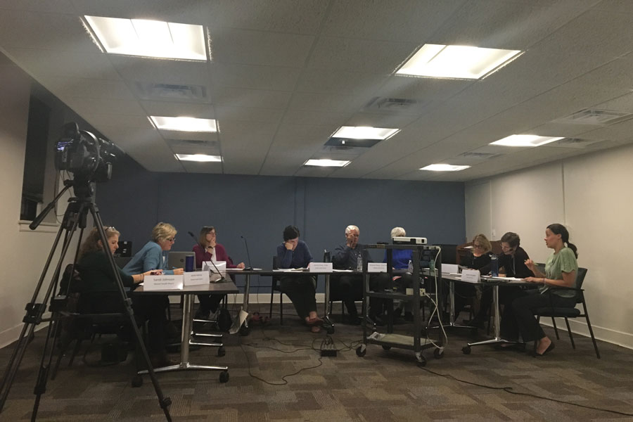 Evanston's Mental Health Board. Members on Thursday discussed allocations of funding towards agencies for fiscal year 2019.