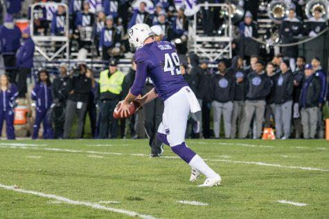 Football: Collins, Gillikin lead ferocious Northwestern special teams unit