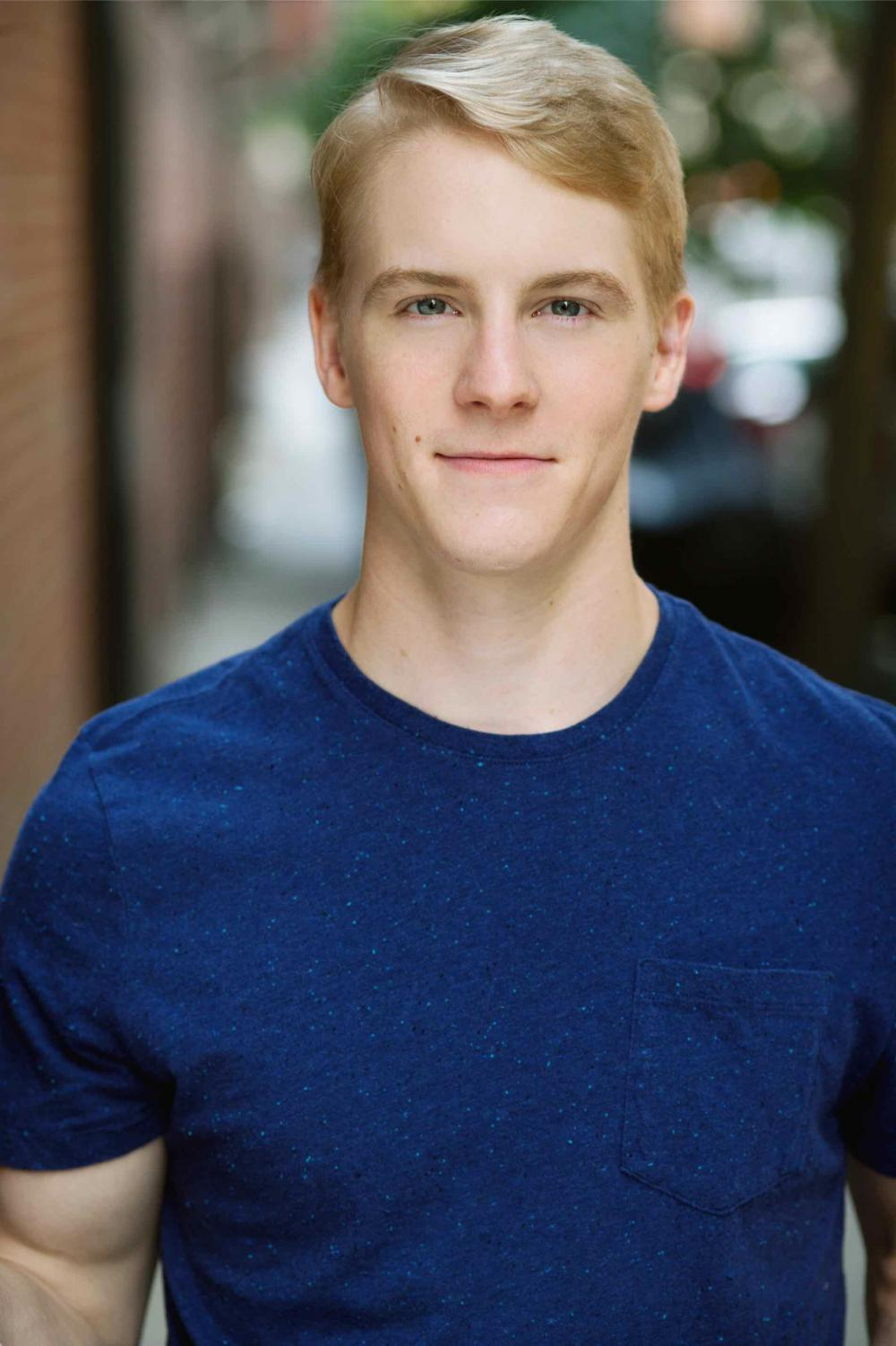 """Ben Estus (Communication '13). Estus joined the ensemble of """"Book of Mormon"""" just a year after he graduated and has been performing with the cast for more than four years."""