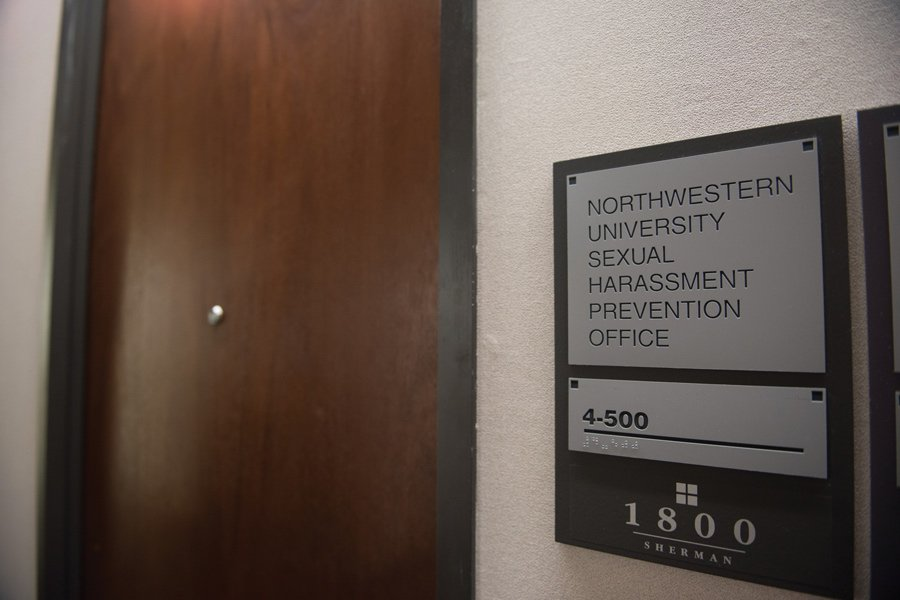 The Sexual Harassment Prevention Office at 1800 Sherman Ave. The Education Department has opened two investigations into Northwestern's Title IX procedures.