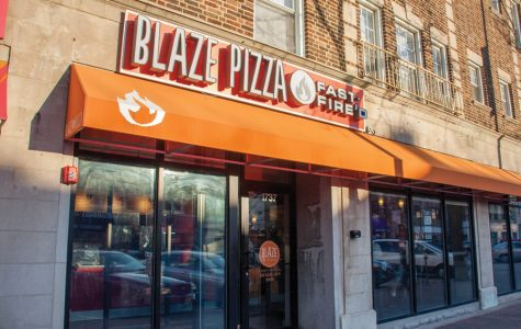 Blaze Pizza in Evanston, 1737 Sherman Ave. Student organizations often partner with local restaurants for profit-sharing fundraisers.