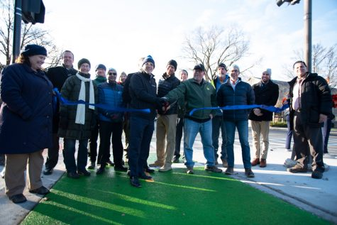 With the ribbon cut, Sheridan/Chicago bike lane project is complete