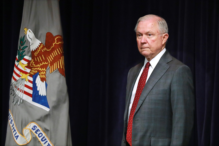 "Jeff Sessions resigned last week, which opened up concerns about the investigation into Russian election interference. Michael Conway, a Medill professor who served as counsel to the House Judiciary during the Watergate scandal, drew comparisons to President Nixon's ""Saturday Night Massacre."""