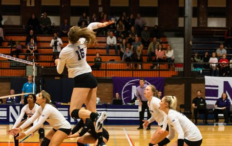 Volleyball: Wildcats complete season sweep over Ohio State in Columbus