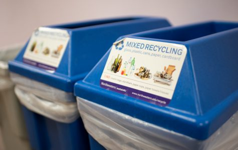 Northwestern's Integrated Solid Waste Management Plan outlines a goal of diverting 50 percent of campus waste from landfills by 2020.