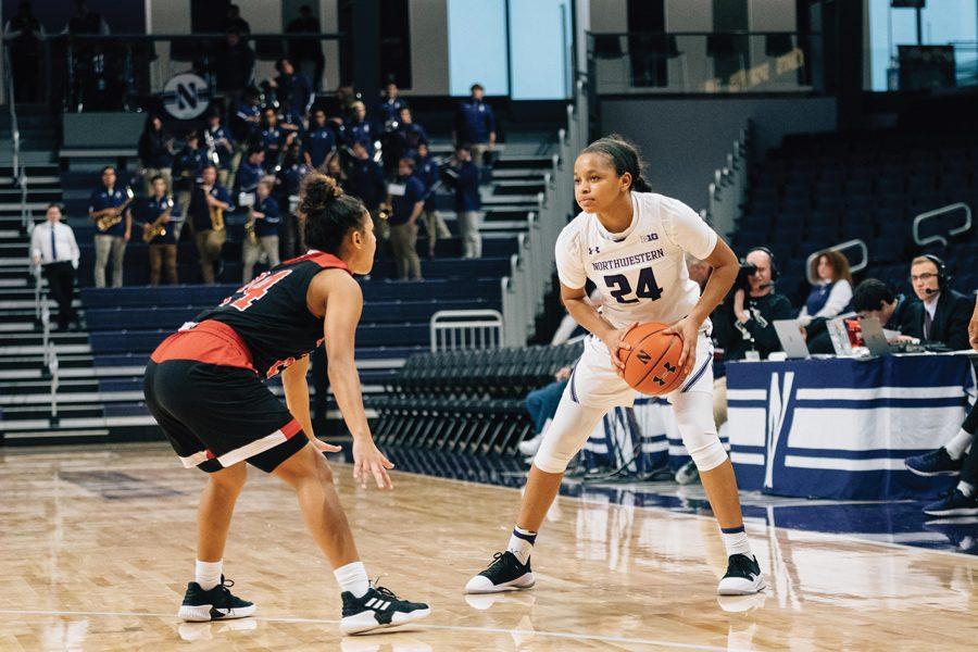 Women's Basketball: Northwestern wins exhibition against Lewis, 84-69