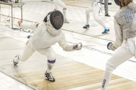 Fencing: NU breezes through Vassar Invitational