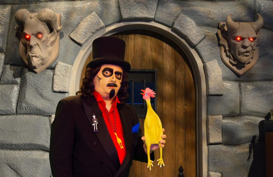 "Rich Koz poses in ""Svengoolie."" Koz took over the titular role in 1979 as ""Son of Svengoolie."""