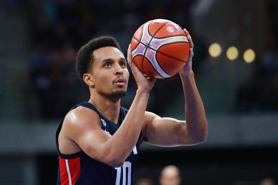 Reggie Hearn plays for Team USA. Hearn was named the 2018 USA Basketball Male Athlete of the Year.