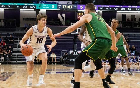 Men's Basketball: Aaron Falzon's return kept NU's win over Chicago State interesting