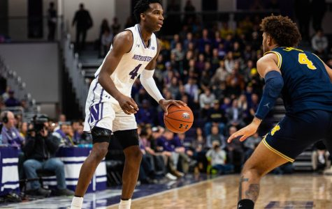 Men's Basketball: Vic Law leads NU out of a slow start in 75-54 win